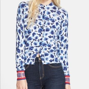 Marc by Marc Jacobs Aki floral sweater cardigan M